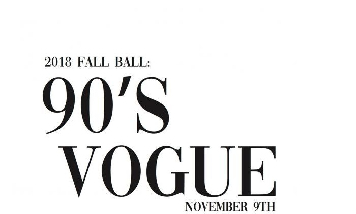 2018 Fall Ball: 90's Vogue