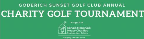 Goderich Sunset Golf Club Annual Charity Golf Tournament