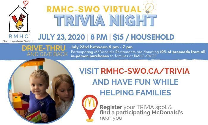 RMHC-SWO Virtual Trivia Night!