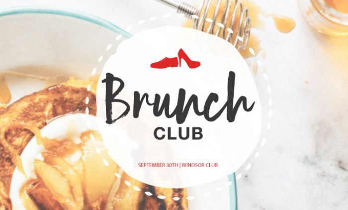 Red Shoe Society Brunch Club Event