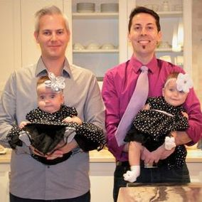 Helping New Dads Stay Close to Their New Twins